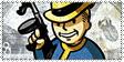Vault Boy Made Man Stamp by Deathbymodding