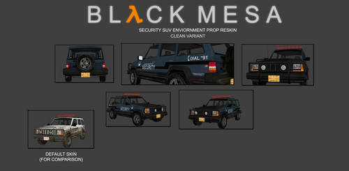 Black Mesa Security SUV - Updated
