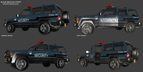 Security SUV - 3rd Update