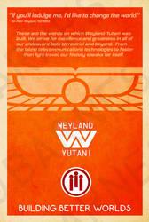 Weyland-Yutani Poster