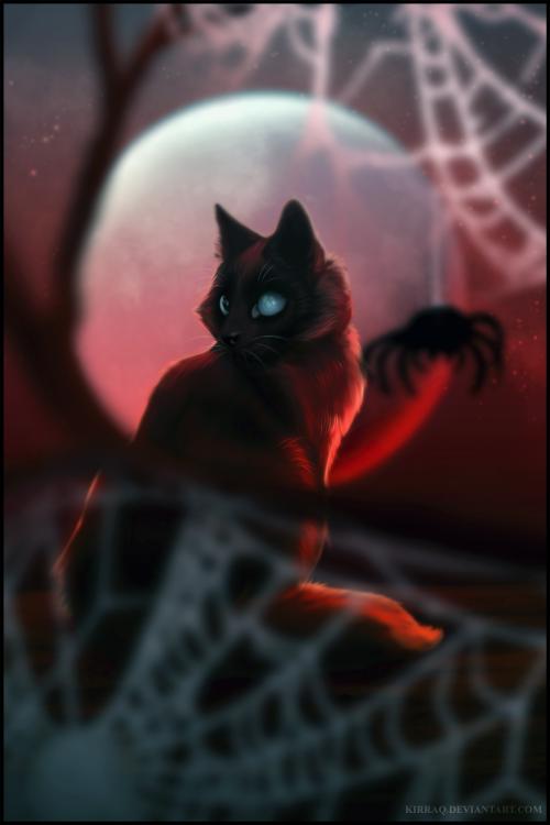 Blood Moon by KirraQ