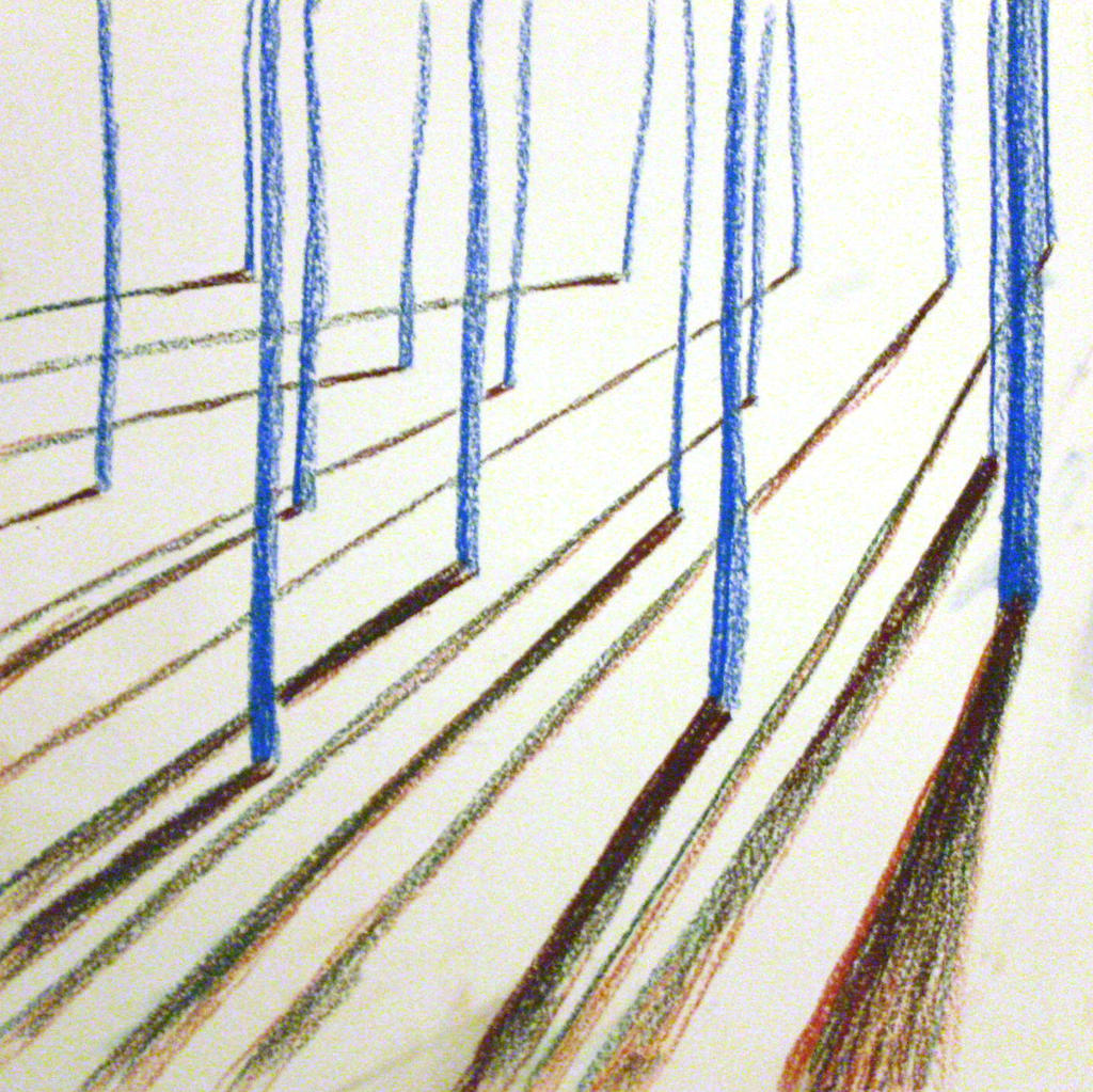 Diagonal Line In Art : March line drawing vertical diagonal by