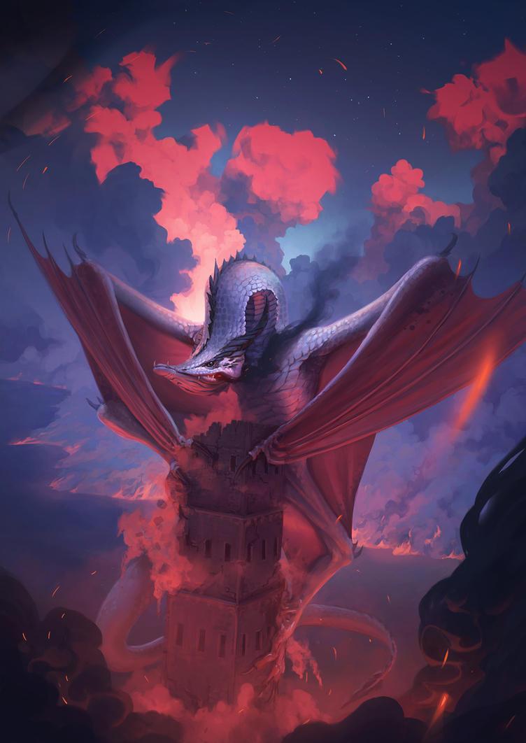 Dragon's Wrath by MatthewDobrich