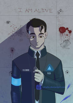 I'm the Android sent by Cyberlife