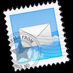 Mac OS X iCloud Mail icon
