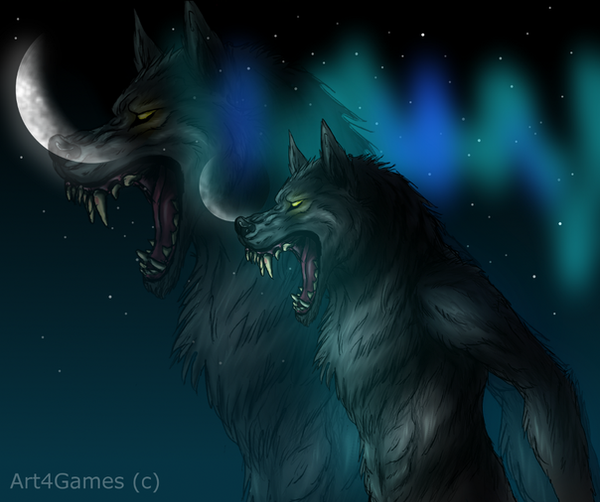 Skyrim Werewolf by Art4Games