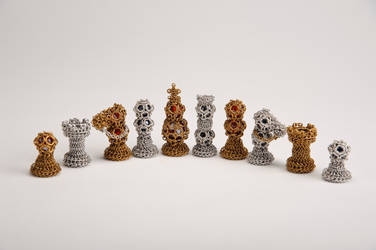 Chainmail Chess Set by ImrikDragon
