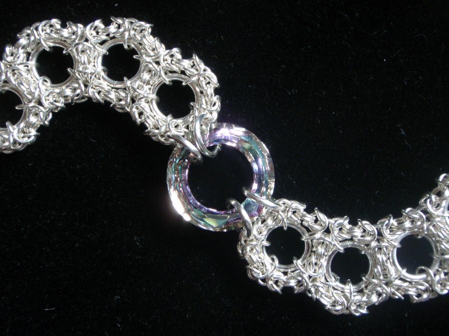 Byzantine Snowflakes Bracelet by ImrikDragon