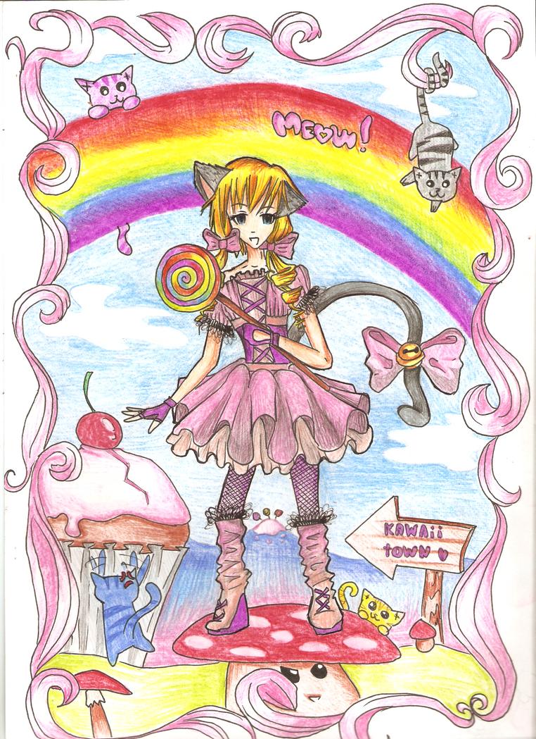 منتدى للبنات فقط - البوابة Kawaii_town_by_cupcake02