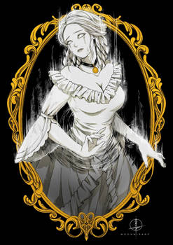 ODDTOBER | Day 29 - Victorian Ghost Girl