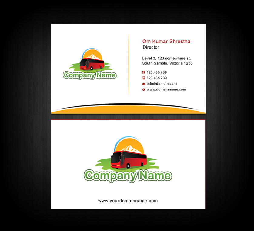 Traveltour business card by nabinbuzz on deviantart traveltour business card by nabinbuzz reheart Images