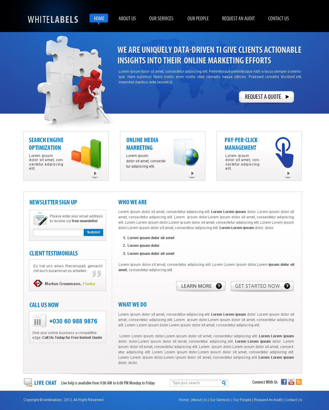 Free it company online marketing web template by nabinbuzz on free it company online marketing web template by nabinbuzz wajeb Image collections