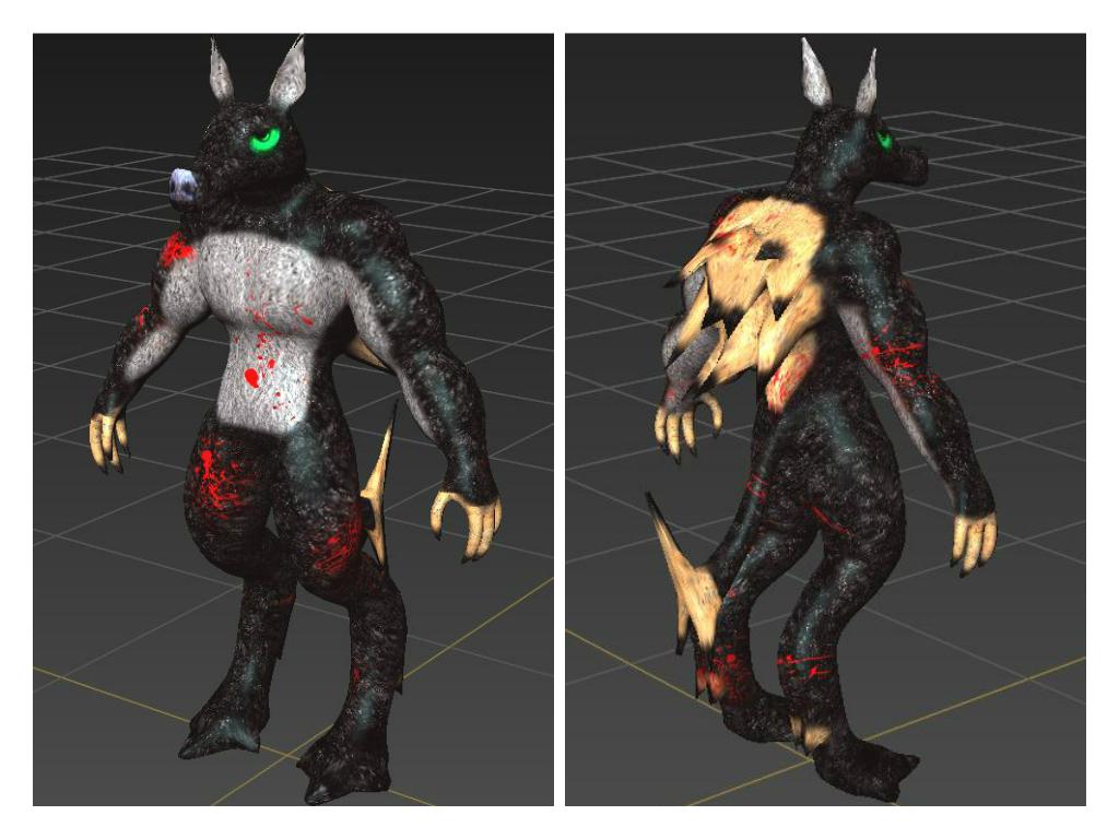 Wolfman Endboss! by wolfdruidkiba