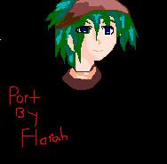 Anime Boy I made by MissFlorah