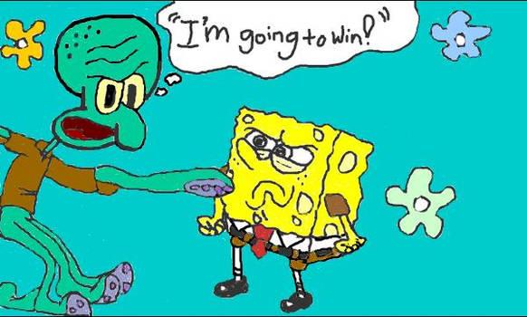 Squidward + Spongebob