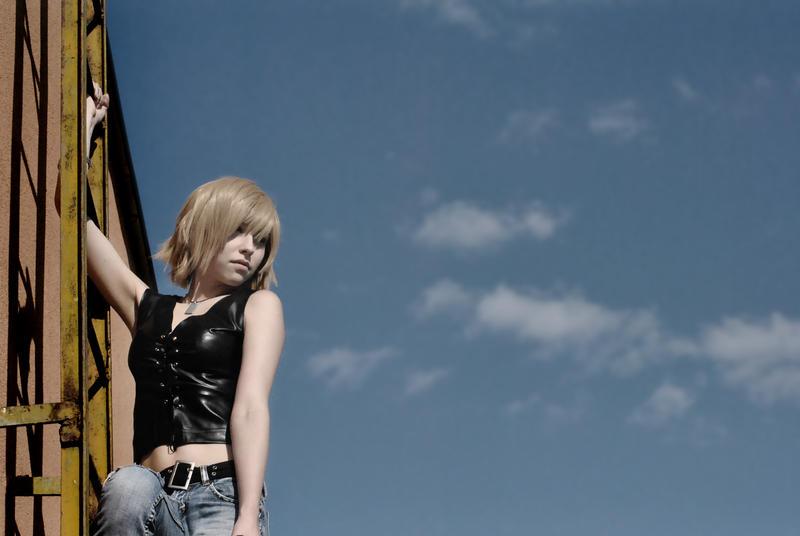 Aya Brea : Cityscapes. by LadyxZero