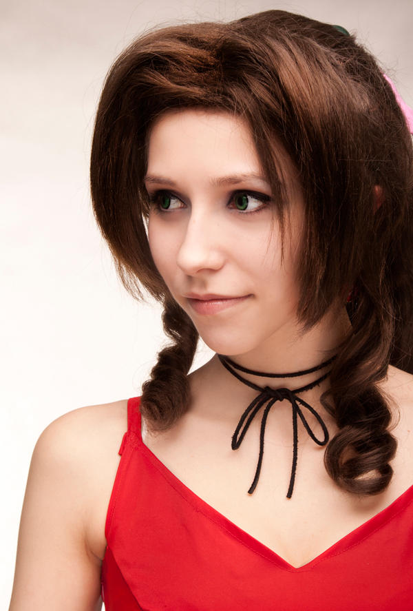 Aerith : lady in red. by LadyxZero