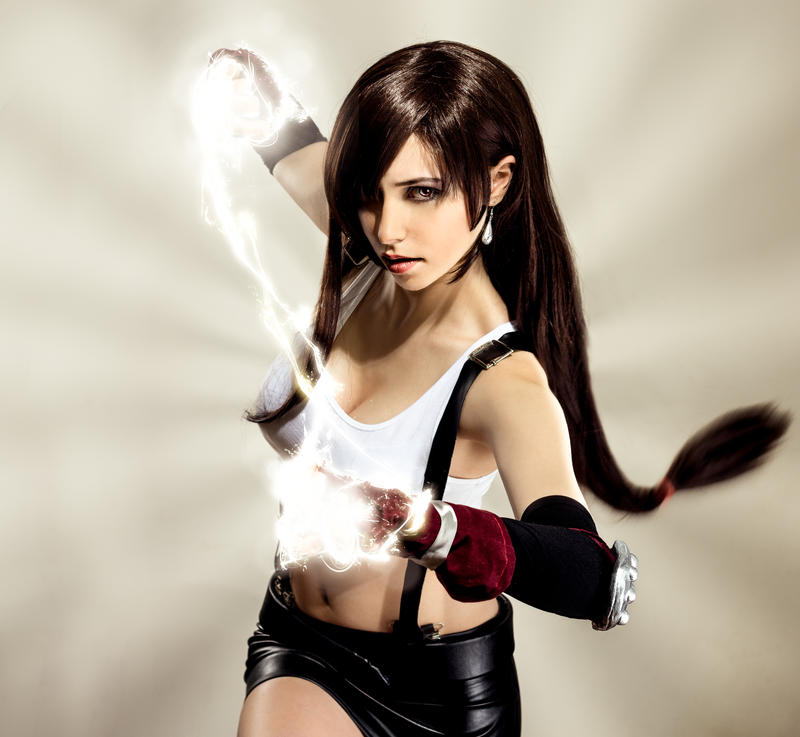 Tifa Lockhart : still more fightning. by LadyxZero