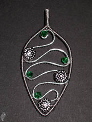 Slytherinish pendant