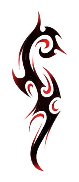 tribal27 - shoulder tattoo