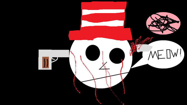 Cat in the Hat Commits Suicide by BreakfastRULZ