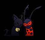 ChatNoirxLadybug