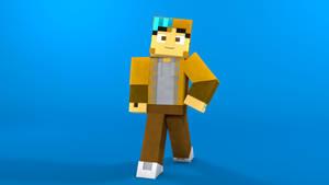 Minecraft OC character: Hazel by TheProfessionalBajao