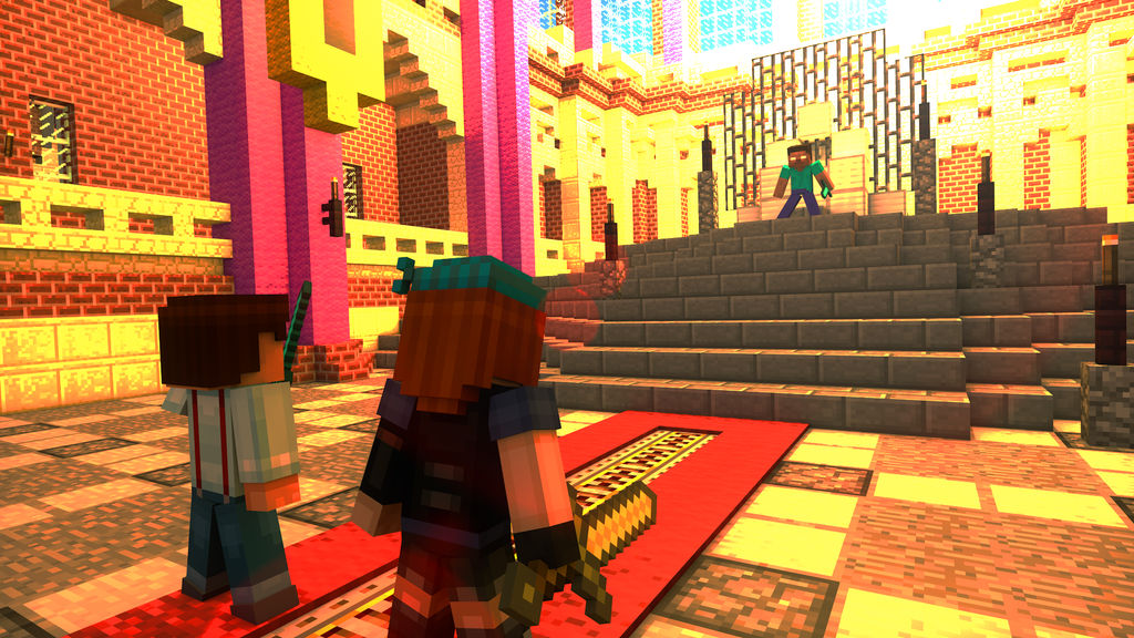 [Request] Fight Against The Herobrine by TheProfessionalBajao