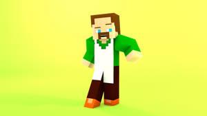 Minecraft OC character: Jon by TheProfessionalBajao