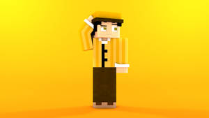 Minecraft OC character: Berto