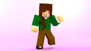Minecraft OC character: Jett by TheProfessionalBajao