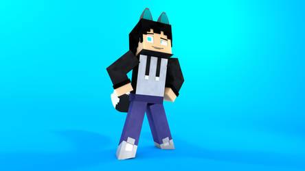 Minecraft OC character: Trey by TheProfessionalBajao
