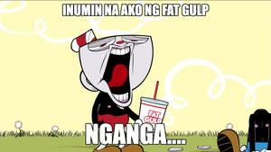 Cuphead Tagalog Meme XD by TheProfessionalBajao