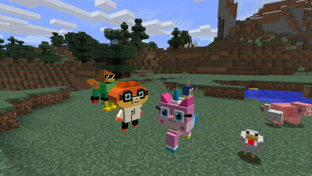 UniKitty Minecraft! by TheProfessionalBajao