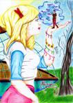 Une fille venue des etoiles by Il-Bletch