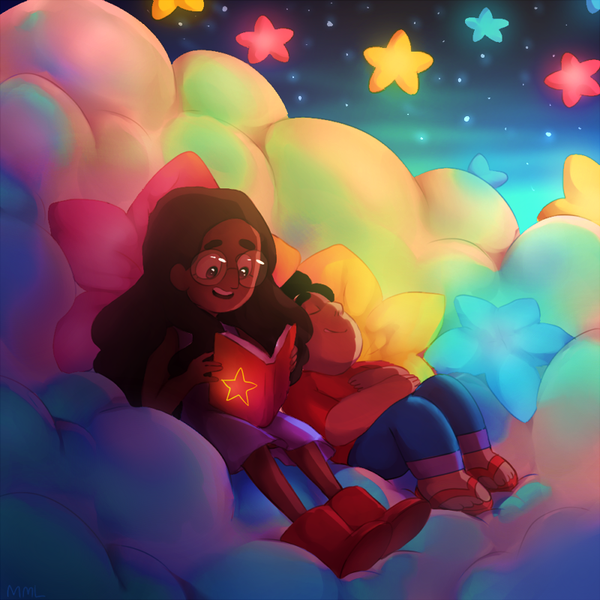 readin time with connie and steven this was very fun and suprisingly easy lol thanks for 300 watchers btw   process in gif : www.ezimba.com/work/140527C/ez…