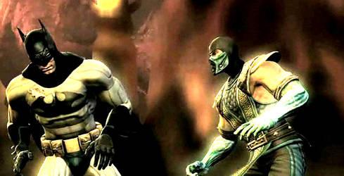 MK vs DC Out of my way Batman