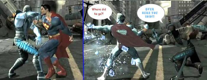 Sub-zero vs Superman