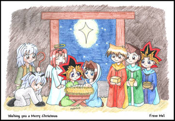 Merry Christmas by mellie-chan