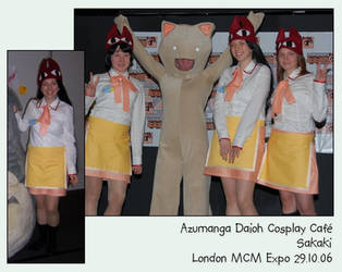 Azumanga Daioh Cosplay Cafe by mellie-chan