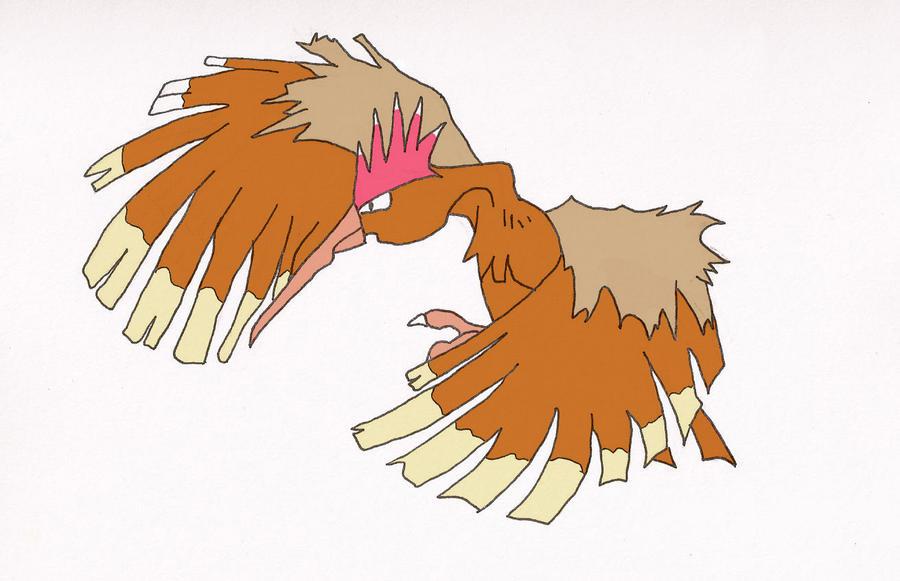Fearow from Pokemon by sakurachan456 on DeviantArt