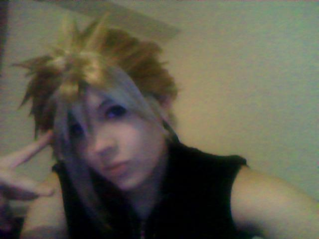 Cloud on Webcam XD by FujimiyaRan