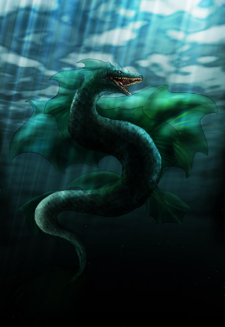 Leviathan: Water Wings by Neisana