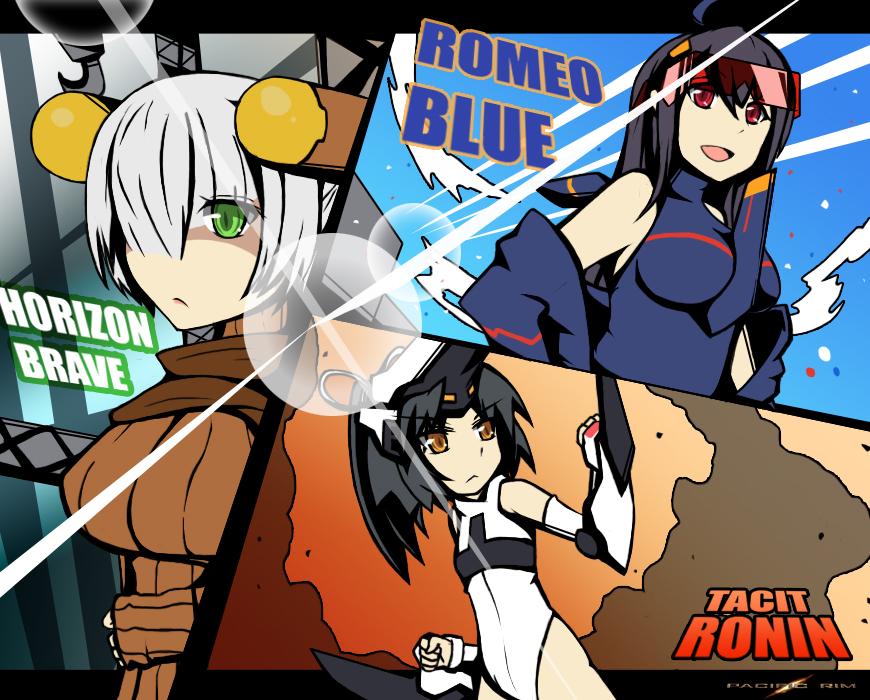 Pacific Rim - The Mark1 Jaegirls by Altronage