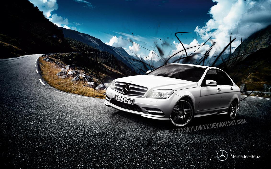 Mercedes benz ad by xxskylowxx on deviantart for Mercedes benz ad