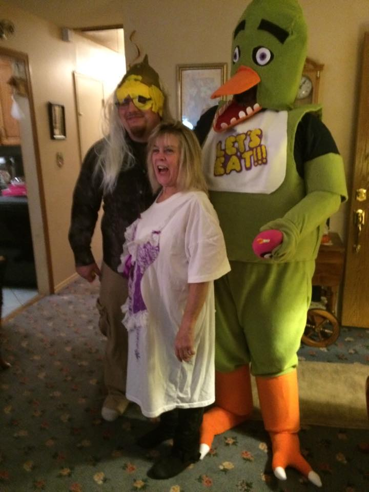 five nights at freddys chica costume by therandomonion
