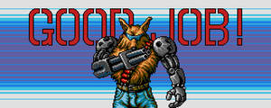 Contra Hard Corps Ending Fang