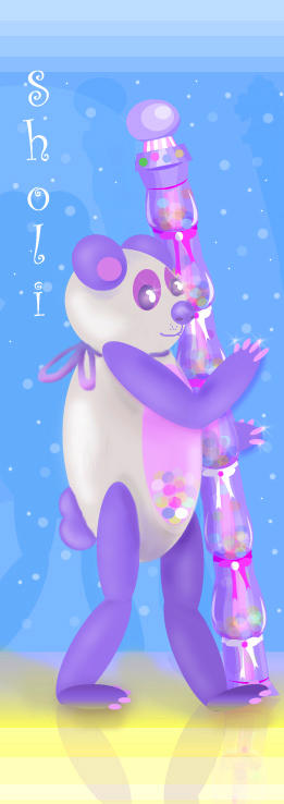 Sholi, The Solitary Candy Bear