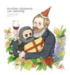 Celebration of Engels' birthday