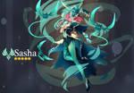 [Commission] Sasha (Genshin Impact OC)